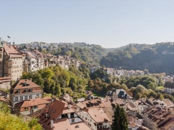 Photo du panorama de Fribourg