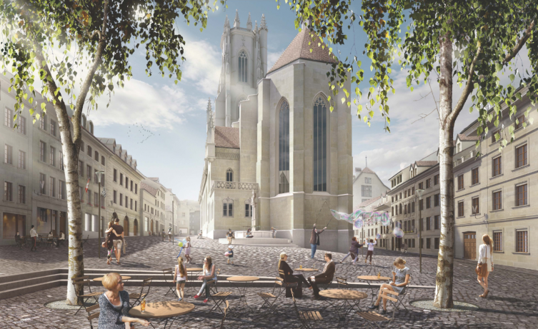 Place Sainte-Catherine (Illustration) - Architekt: Studio Montagnini Fusaro